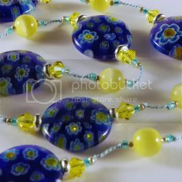 Summer Sunshine Millefiori Necklace