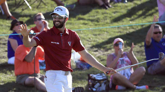 Monday Morning Swing Coach: How Adam Hadwin was able to find the cup from deep - Twin Lakes Village Golf Course