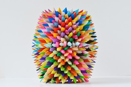 You Too Can Fold Some of Byriah Loper's Mind-Blowing Modular Origami