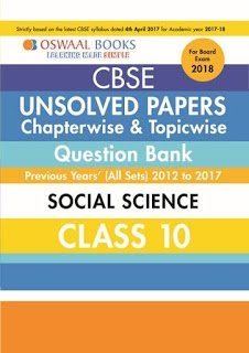 Oswaal books for class 10 science