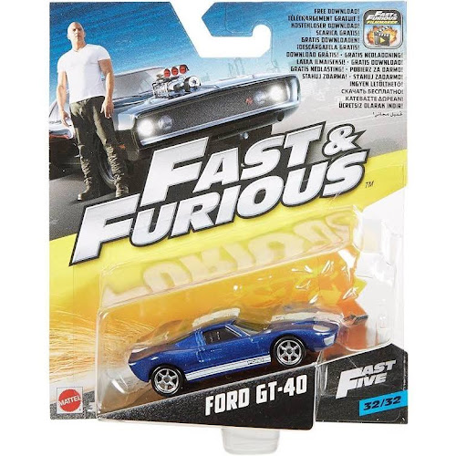 Mattel Fast Amp Furious Ford Gt  Vehicle