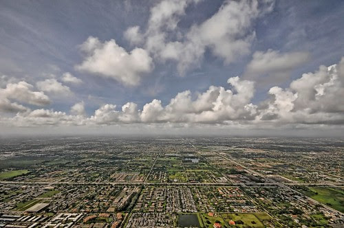 Endless Sprawl With Clouds