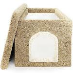 New Cat Condos Litter Box Enclosure, Brown