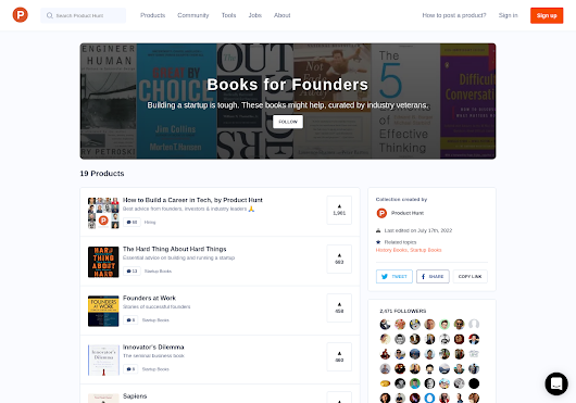Books for Founders