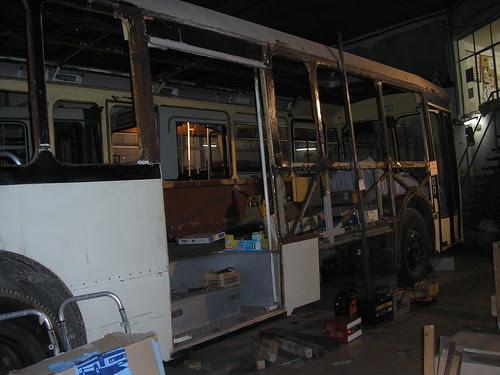 Autobús Pegaso 6038 preservat per ARCA