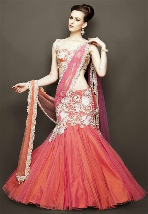 Latest Bridal Choli Lehengas By Zarilane From The