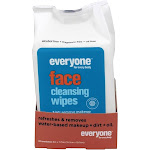 Everyone Cleaning Wipes, Face, 3 in 1 - 30 towelettes