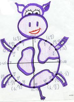 Unit Circle Project (image only)   math education   Pinterest ...