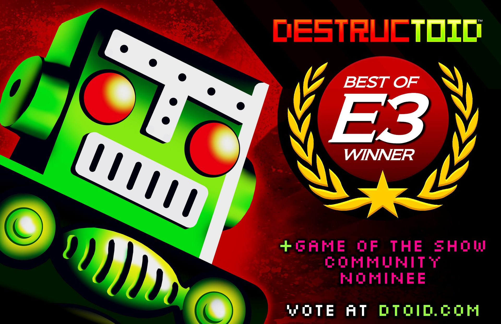 Your winner for Destructoid's E3 Community Choice Award is... screenshot