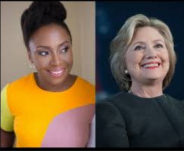 And Yes,Hilary Clinton Changes Her Twitter Bio As Chimamanda Adichie Wanted!See What She's Now Called And Why!