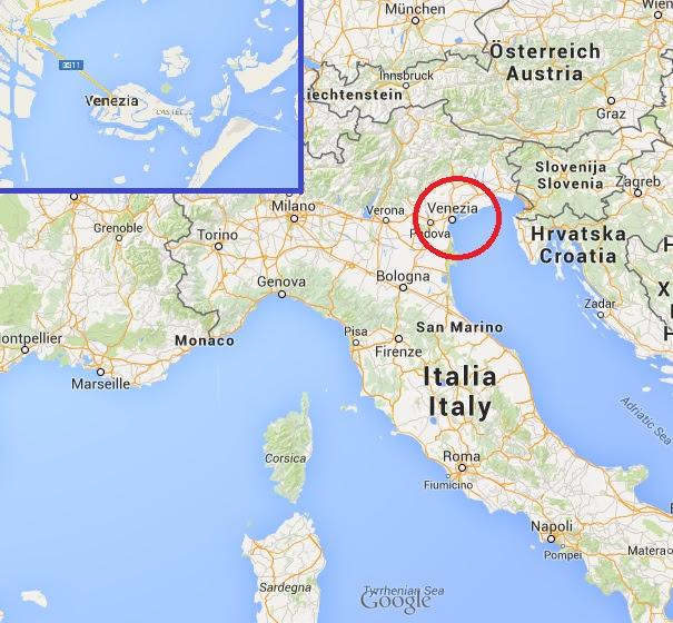 Espacoluzdiamantina 25 Luxe Venise Carte Europe