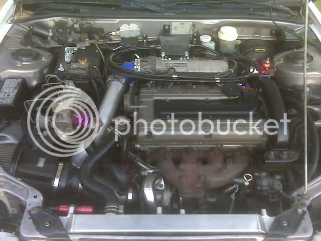 Mitsubishi Eclipse Engine Bay