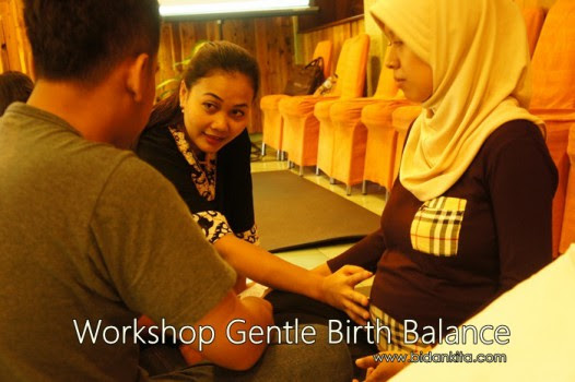 The key to this kind of learning is consitent WORKSHOP GENTLE BIRTH BALANCE