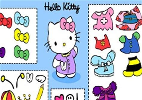 Dress Up Hello Kitty   Hello Kitty Games