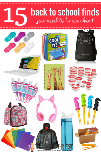 15 Fabulous Back to School Finds on Amazon - The Mom of the Year