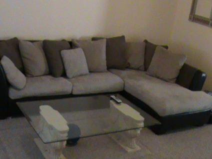 Ashley Furniture Leather Sectional Couch