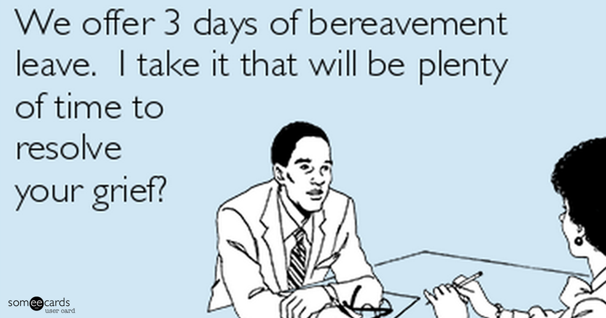 When Bereavement Leave Ends Going Back To Work After A Death