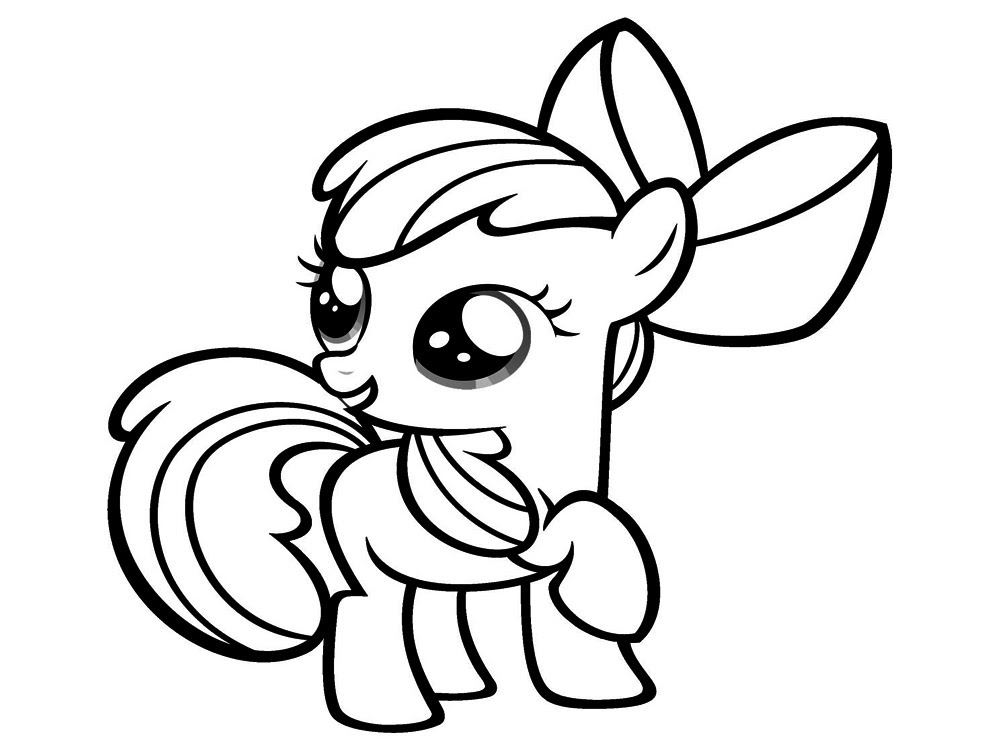 My Little Pony Dibujos Para Colorear