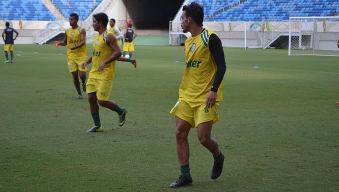 Felipe Moreira, atacante do Alecrim (Foto: Jocaff Souza/GloboEsporte.com)