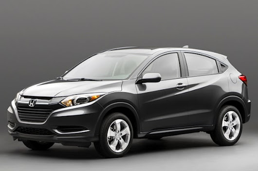 2015 Honda HR-V looks fit for the urban jungle