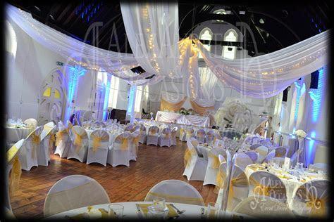 Wedding Event Ceiling Drapes   London, Hertfordshire