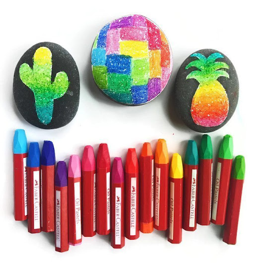 Rock Painting - Four Creative Ideas & Supplies - Color Made Happy