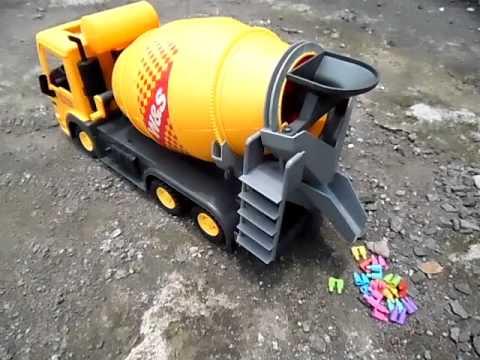 Mainan Rc Molen Remote Control Mengaduk Dan Menumpahkan Otomatis