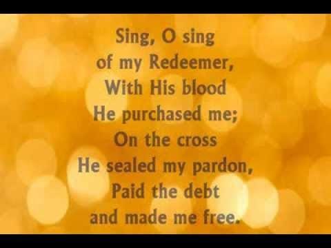 I Will Sing Of My Redeemer Lyrics Fernando Ortega