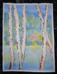 Mom's Birches