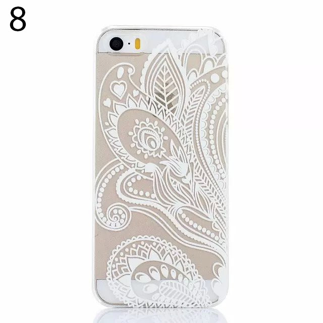 Ethnic Tribal Print Transparent Iphone 5 5s Case