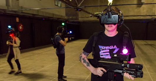 Fightings zombies with Zero Latency is virtual reality gaming at its best