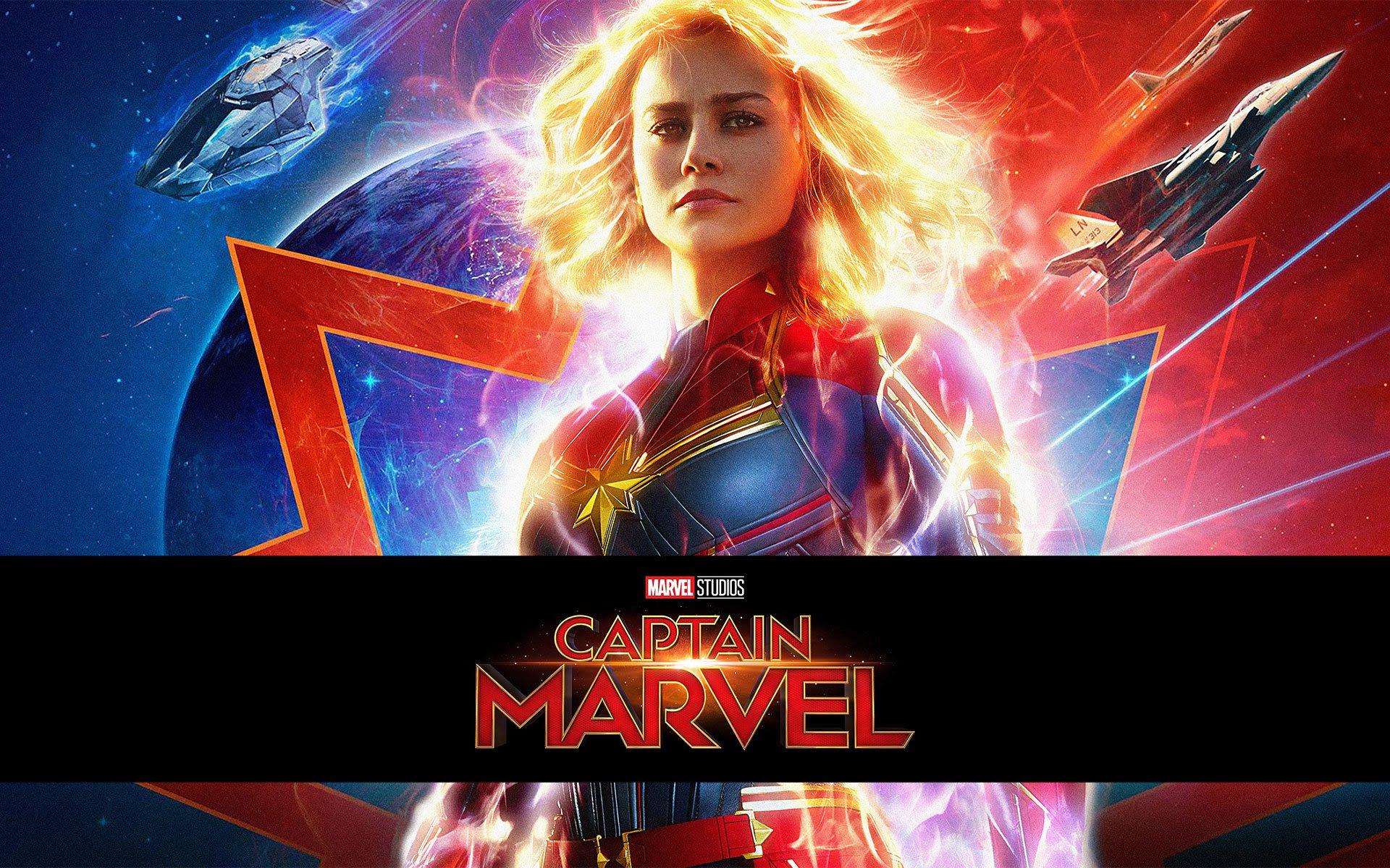 Captain Marvel Hd Wallpaper Man 1 Film