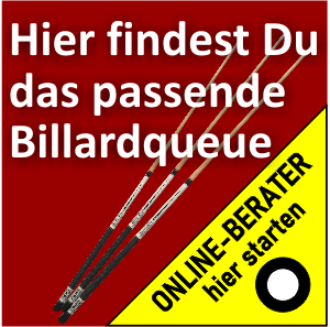 Billard-Queue-Berater