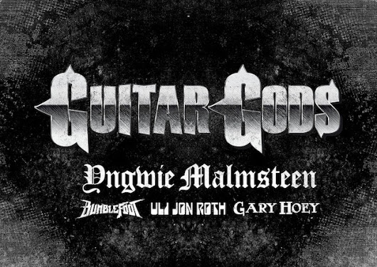 GUITAR GODS 2014: Featuring YNGWIE MALMSTEEN, ULI JON ROTH; To Take Place This Summer