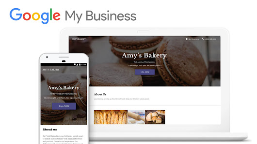 Google My Business website builder SEO review