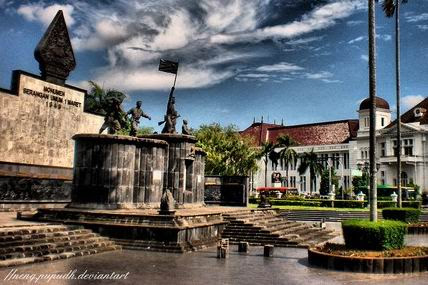 Monumen 1 Maret Yogyakarta