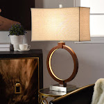 StyleCraft 1259885 Norwich Table Lamp with LED Nightlight