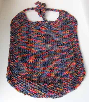 knitted bib