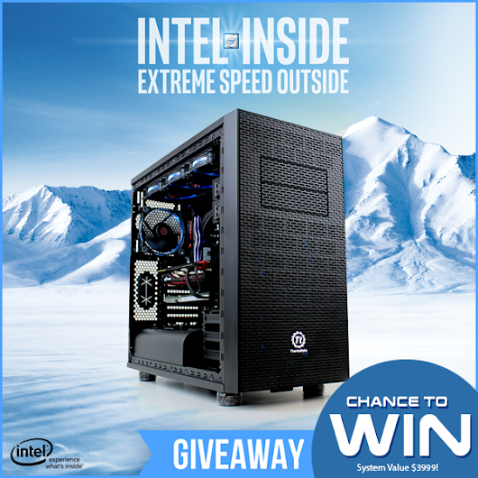Win A Intel Broadwell-E Gaming PC Powered By Intel's 750 SSD - Valued @ $3999