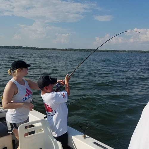 Lake Texoma Striper Report October 7, 2017 | Captain Steve Buckley