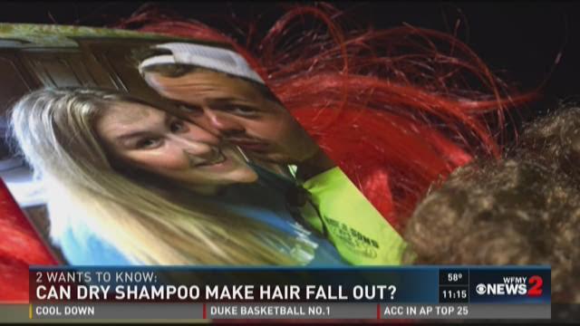 Can Dry Shampoo Make Hair Fall Out? | 12NewsNow.com