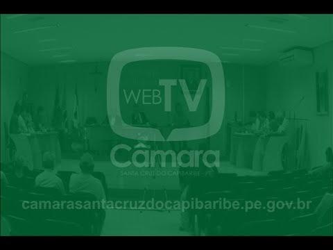 Assista a reunião desta quinta-feira (29) na Câmara de Vereadores de Santa Cruz