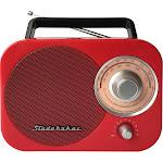 Studebaker - Portable AM/FM Radio - Red/Black