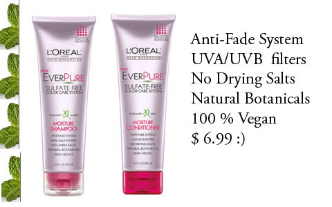 Best Sulfate Free Natural Ingredients Shampoo For Color Treated Hair
