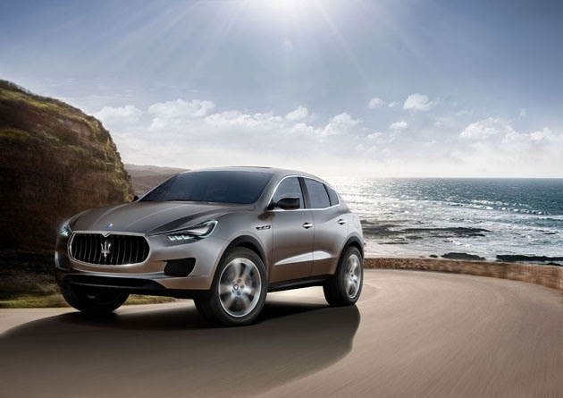 Maserati introduced the first in the history of the brand SUV Kubang, which will go into mass production.