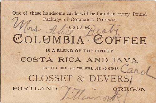 columbia cofee