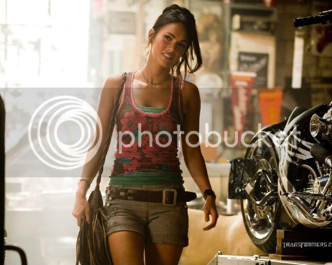 Transformers 2 Megan Fox Motorcycle. megan fox transformers 2.