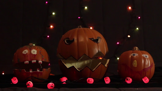 Browser Controlled Singing, Animatronic Jack O'Lanterns and Light Show With Arduino and Raspberry Pi #piday #raspberrypi @Raspberry_Pi