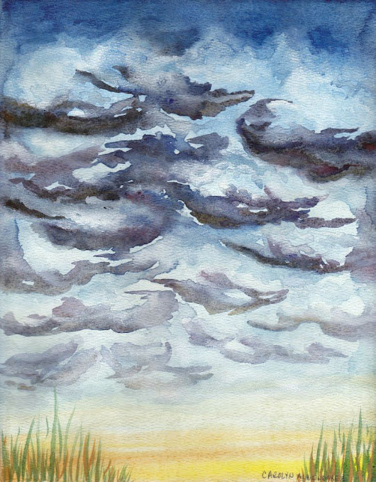 Storm Clouds | Carolyn Almendarez Art