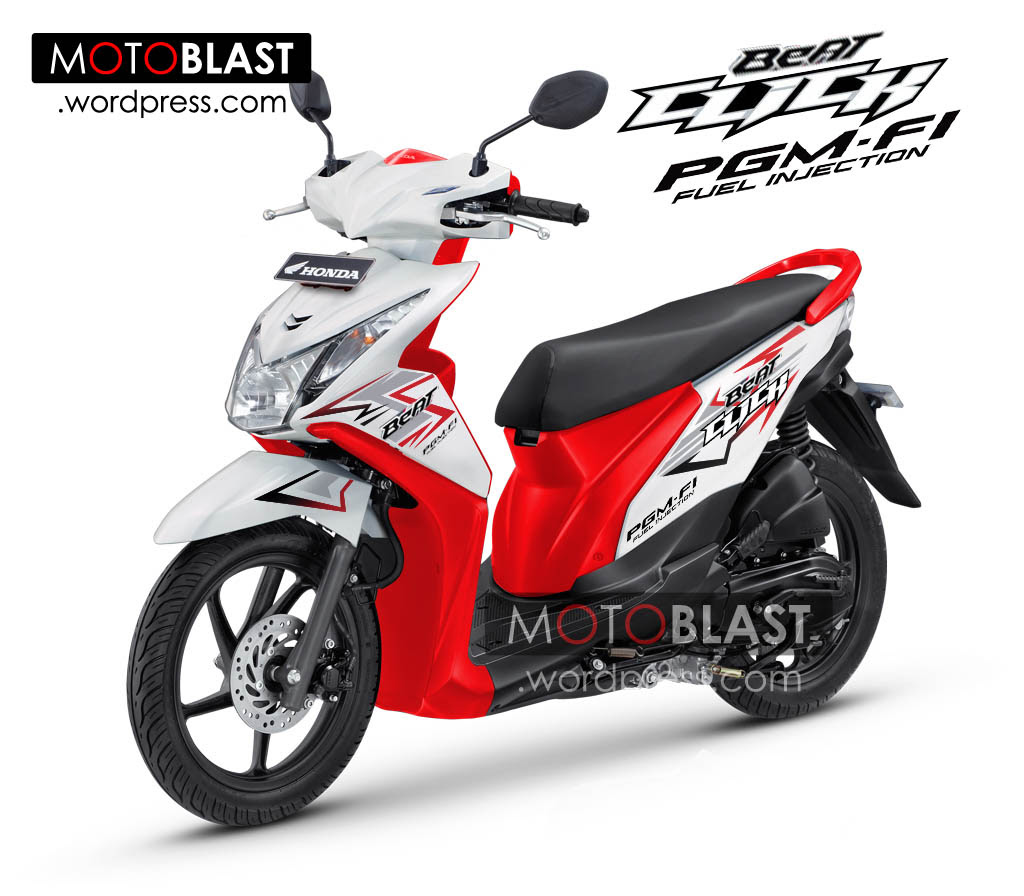 Inikah Penampakan Honda Beat FI Click 2014 MOTOBLAST